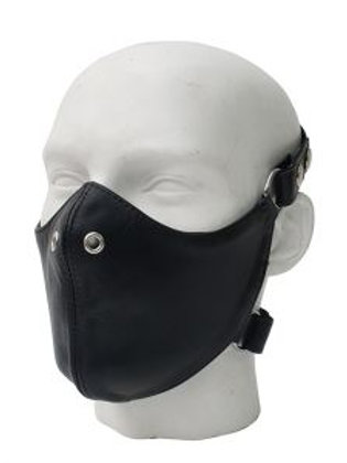 Nose & Face Leather Mask