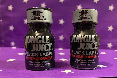 2 Jungle Juice Black Small.  (2 bottles)