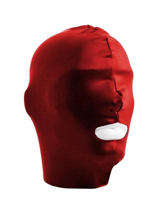 Datex Face Hood, open mouth