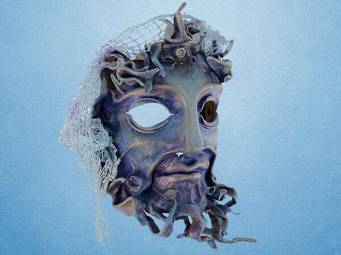 Leather Poseidon Mask