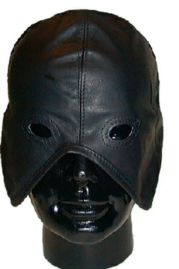 Executioner's Mask, high grade leather