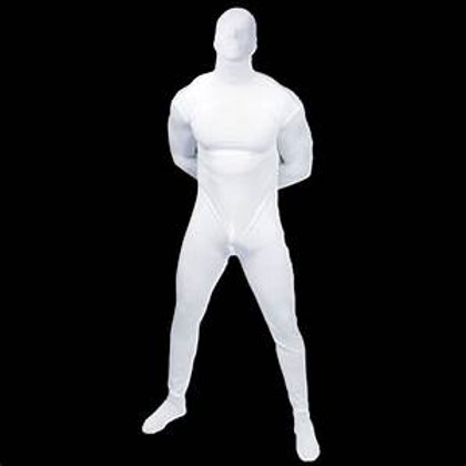 White Lycra Play Suit