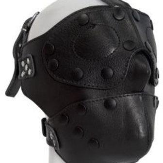 Leather Detachable Hood