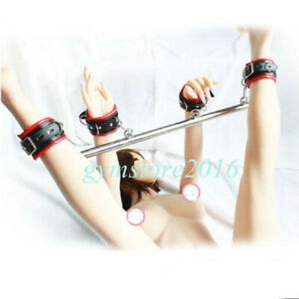 Spreader Bar & Leather Cuffs