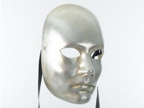 Costume mask Silver