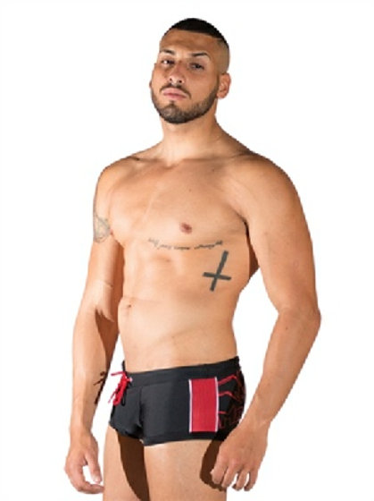 Mister B Urban Long Beach Swim Trunks
