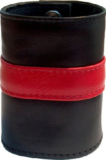 Wrist Wallet Zip Red