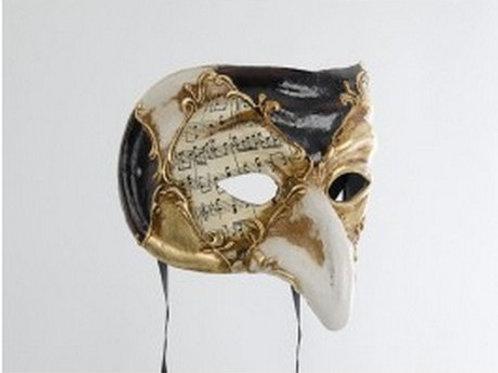 Venetian Pulcinella mask, Napoli