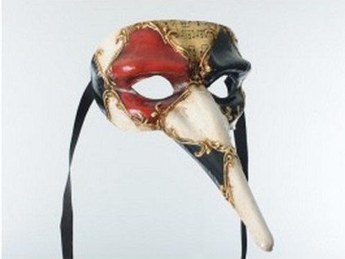 Venetian Scaramouche Mask