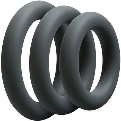 3 Cock Ring Set
