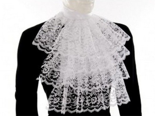 Garbot white Lace Collar