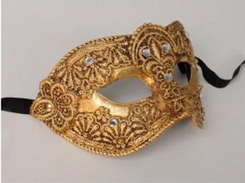 Male Masq. Mask Gold