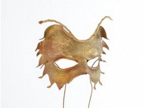 Leather Mask Tiny Leaf