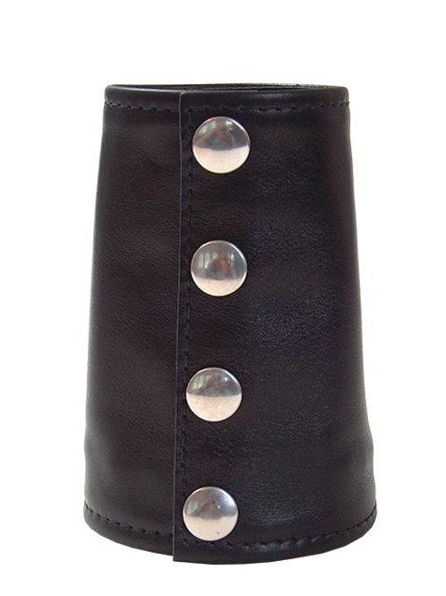 Leather Gauntlet Zip Wallet