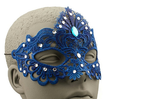 Blue Lace Mask