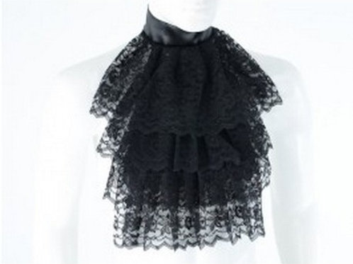 Garbot black Lace Collar