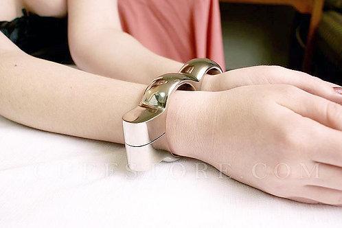 Stainless Steel Irish Handcuffs