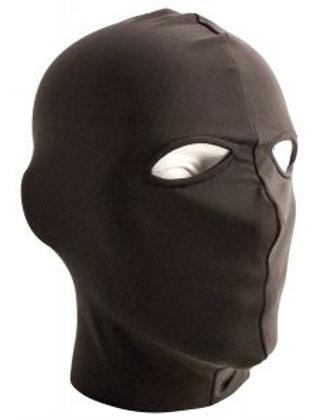 Lycra Hood with Eyes Open in Black