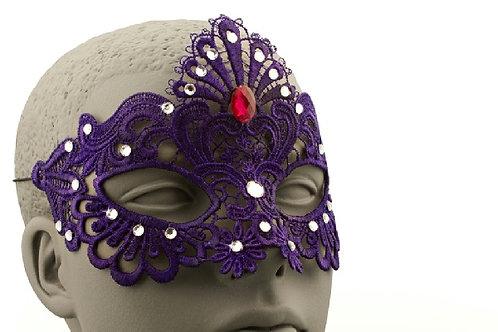 Purple Lace Mask
