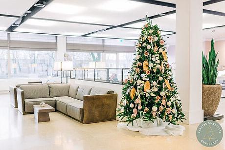 Gehuurde kerstboom
