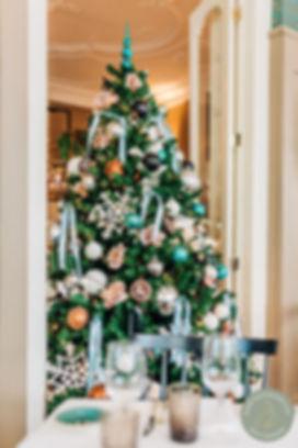 Kerstboom in horeca