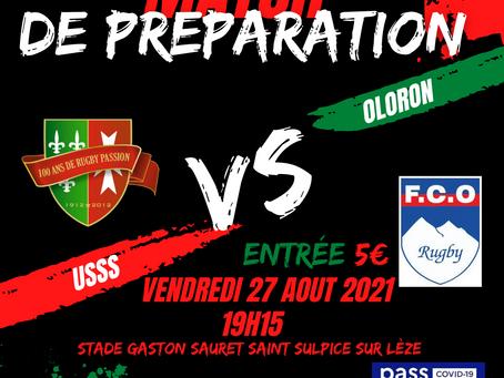 Match de préparation 2021 ❤️💚