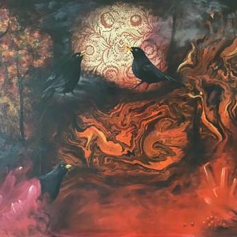La grotte aux baies rouges