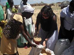 Distributing Maze To Lodwar Tribes