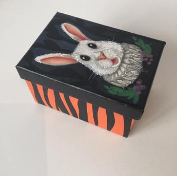 Boîte lapin rectangle