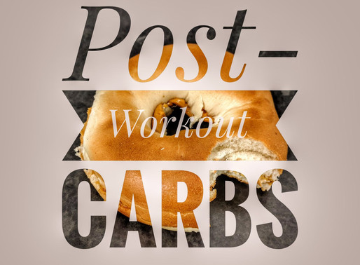 Post-workout carbs