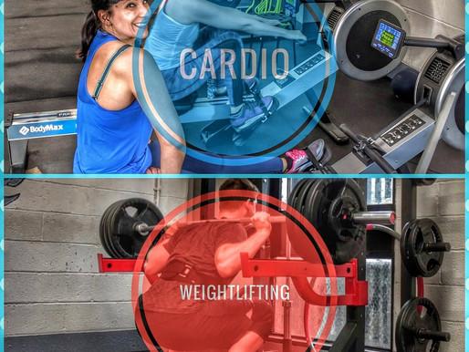 Cardio versus Weightlifting