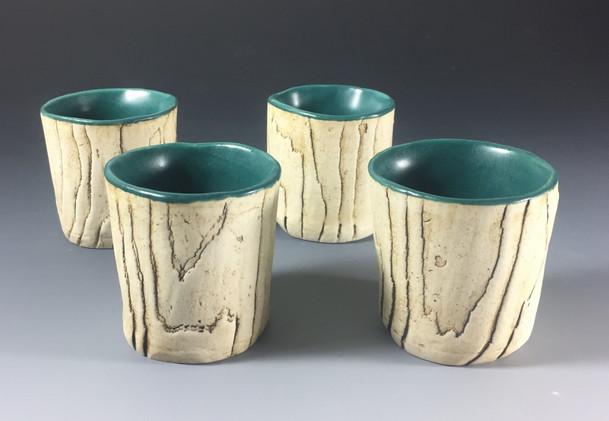 Woodgrain Cups