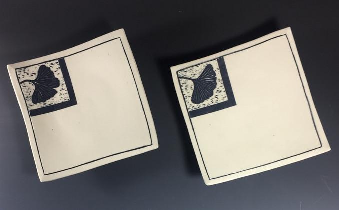 Ginkgo Woodcut Plates