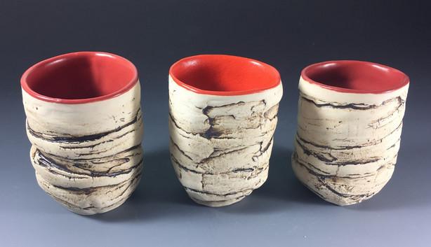Incense Cedar Bark Cups
