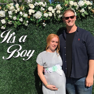 Baby Shower Flower Wall - Its a Boy