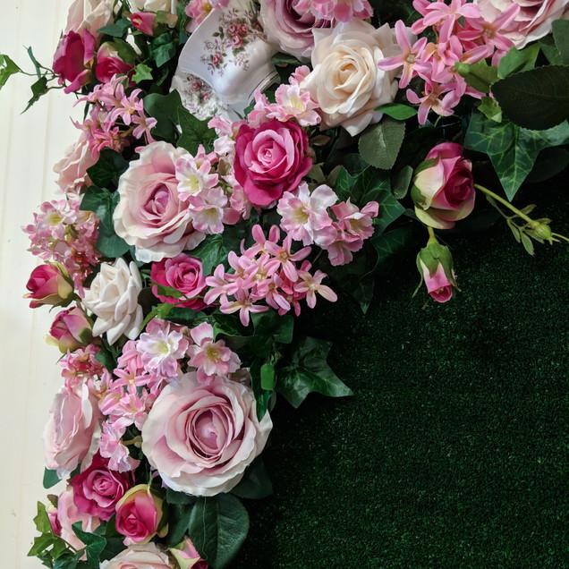 Bespoke Floral Notice Board
