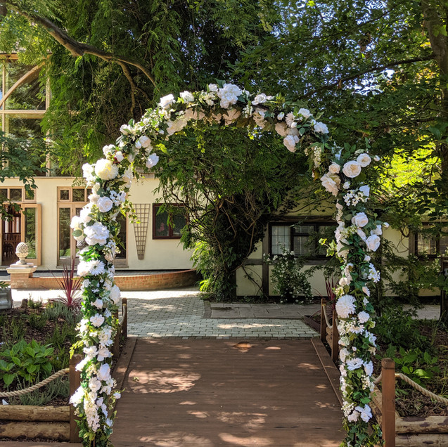 Floral Arch - Windsor Arch