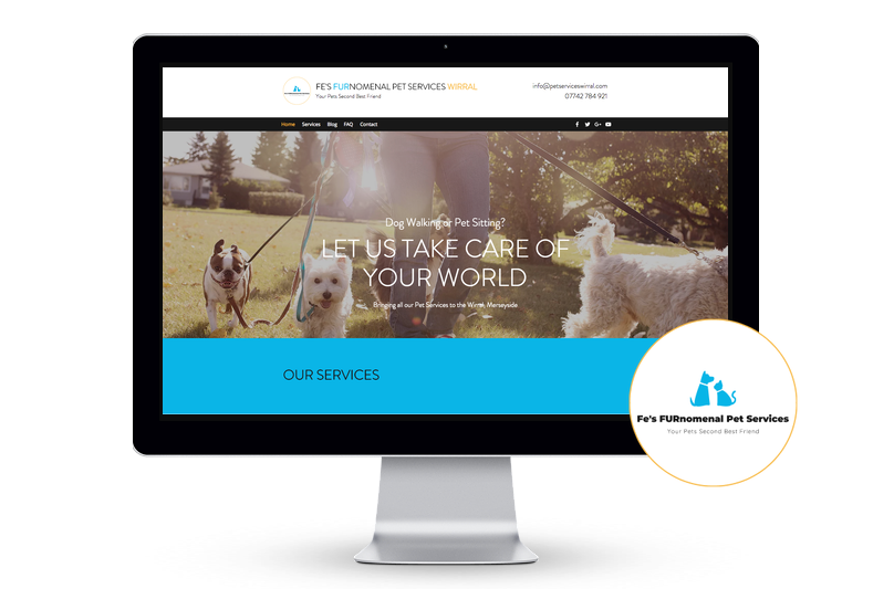 Our new Website's Gone Live! - Fe's FURnomenal Pet Services | Wirral