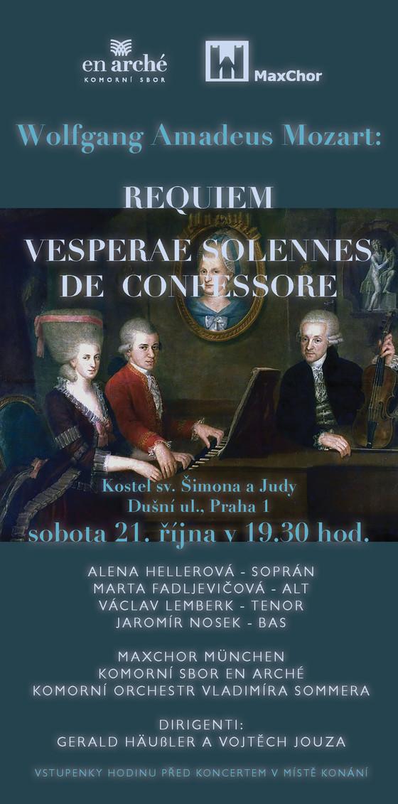 21.10. 2017 W. A. Mozart - kostel sv. Šimona a Judy, Dušní 1, Praha 1