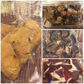 Produits de canards gras