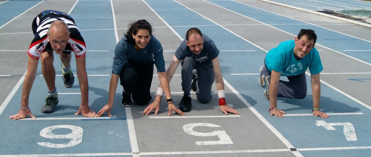 Tine Devos en haar sporters