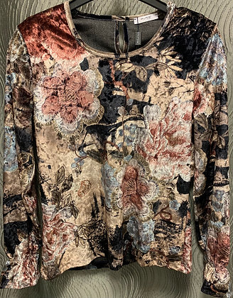 Samt-Shirt