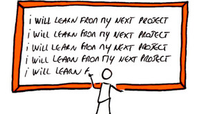 What did you learn from your last project?