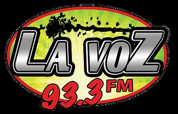 La Voz 93.3 FM Logo