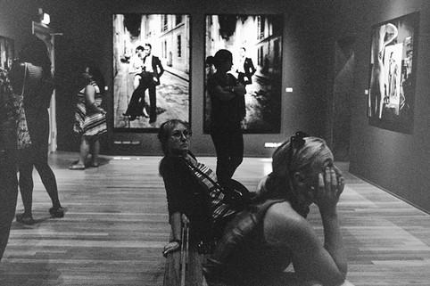 Helmut Newton Retrospective.Yigit Altay.Foam Photography Museum.Amsterdam.2016.