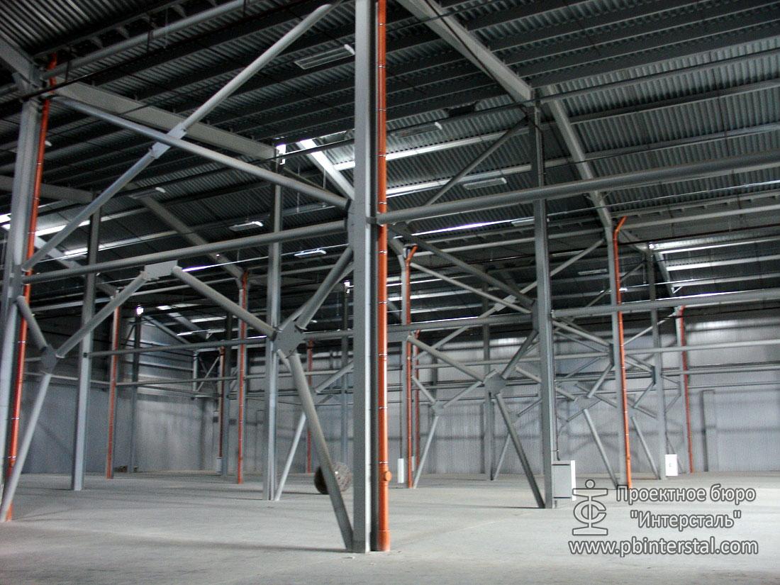 Проектирование стального каркаса
