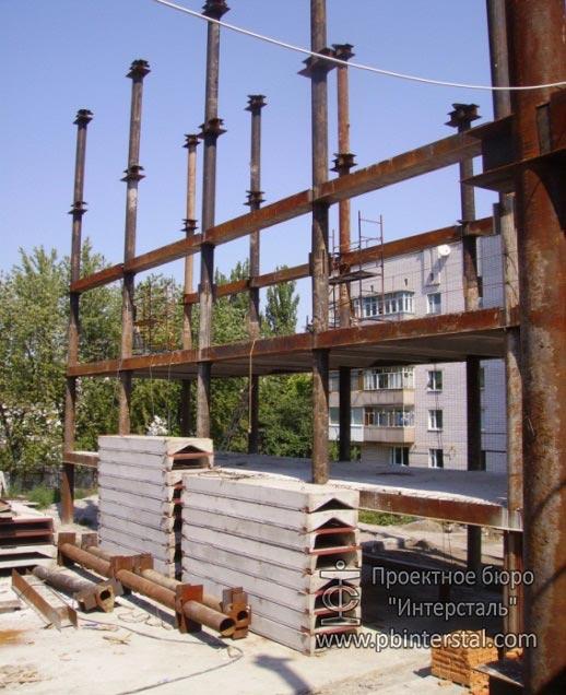 Строительство здания