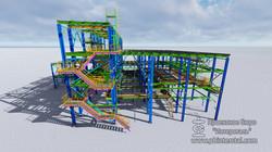 3D modelling steel