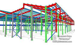 steel detailing, BIM, 3D