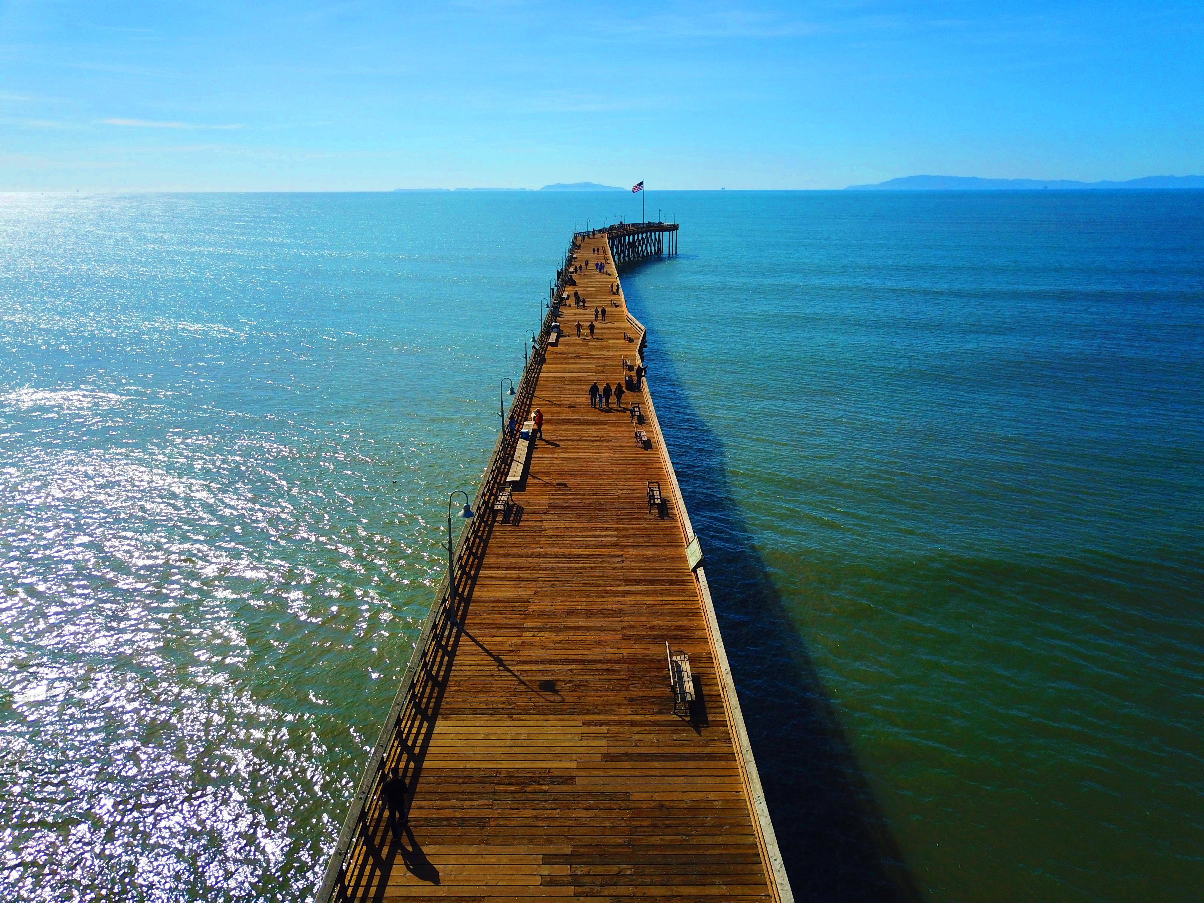 Ventura Pier walkway